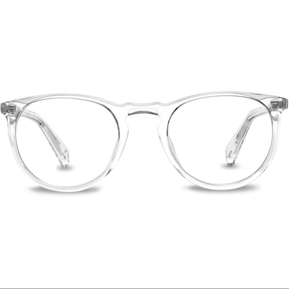 Warby Parker Accessories Haskell Frames In Crystal Poshmark